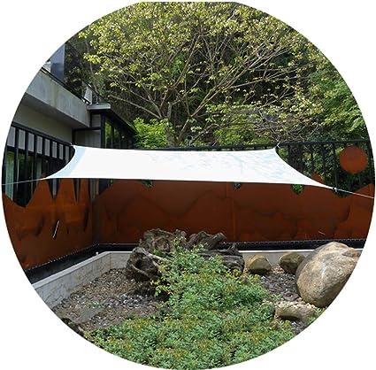 Toldo rectangular para jardín o terraza, color blanco, para ...