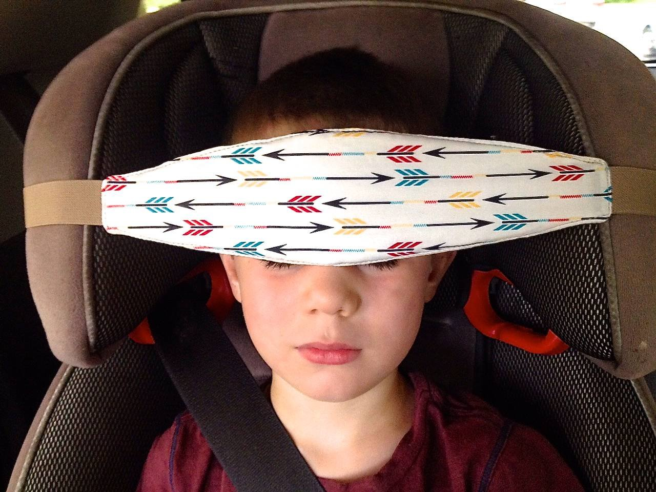 Slumbersling Number Crash Tested Toddler Car Seat Head Support Jpg 1280x960 Headrest