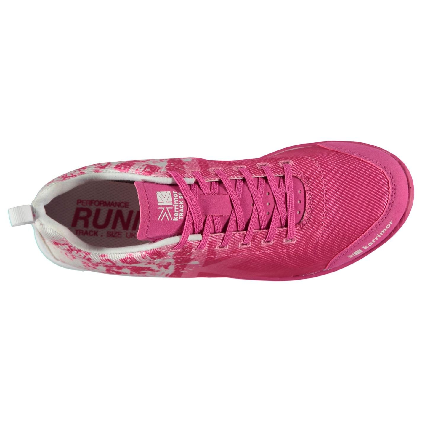 b4b40dc600f4 Karrimor Kids Running Spikes 4 Track Shoes White Pink UK 6 (39)   Amazon.co.uk  Shoes   Bags