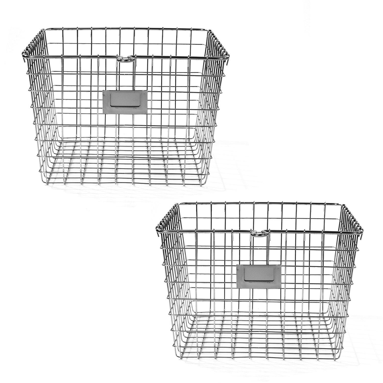 Spectrum Diversified Wire Storage Basket (6 Pack), Medium Copper 47979-6
