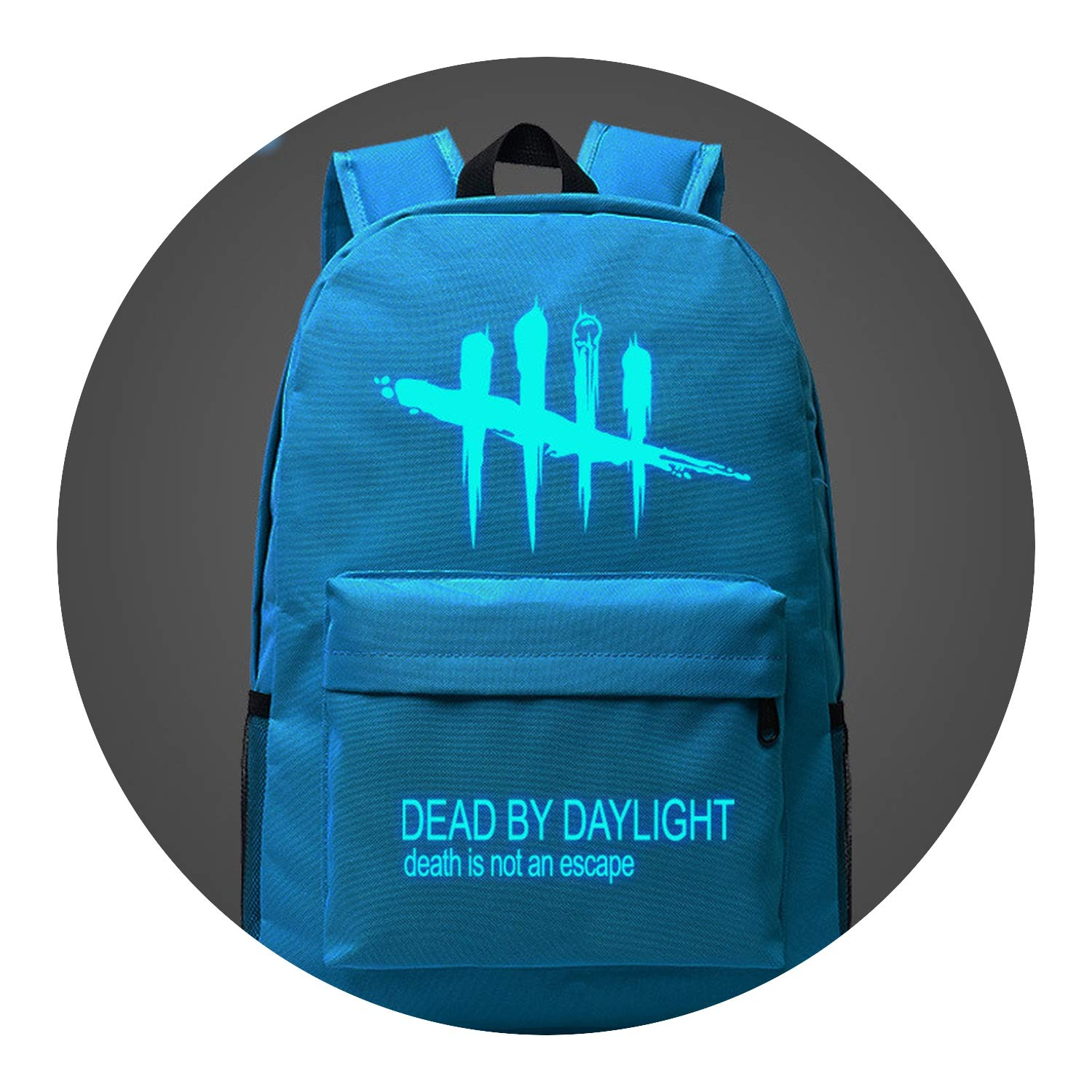 With a dash of 05 One Size Backpack Cool Game Backpack Dead by Daylight Luminous Backpacks Bags,BP7801