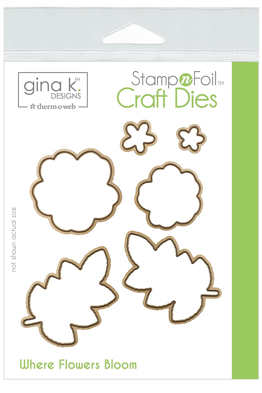 Designs for Therm O Web StampnFoil Craft Dies Where Flowers Bloom Gina K