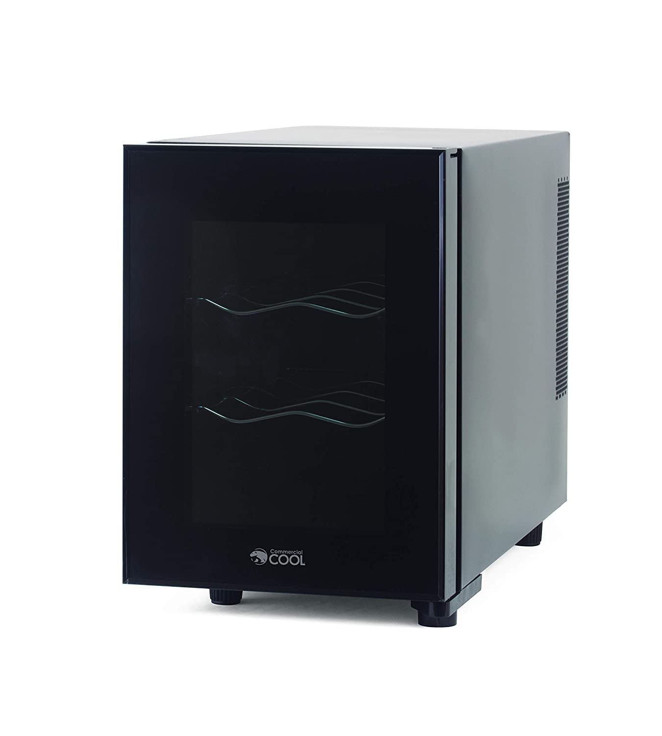 Commercial Cool CCWT060MB Thermal Electric 6 Bottle Wine Cellar Renewed Black