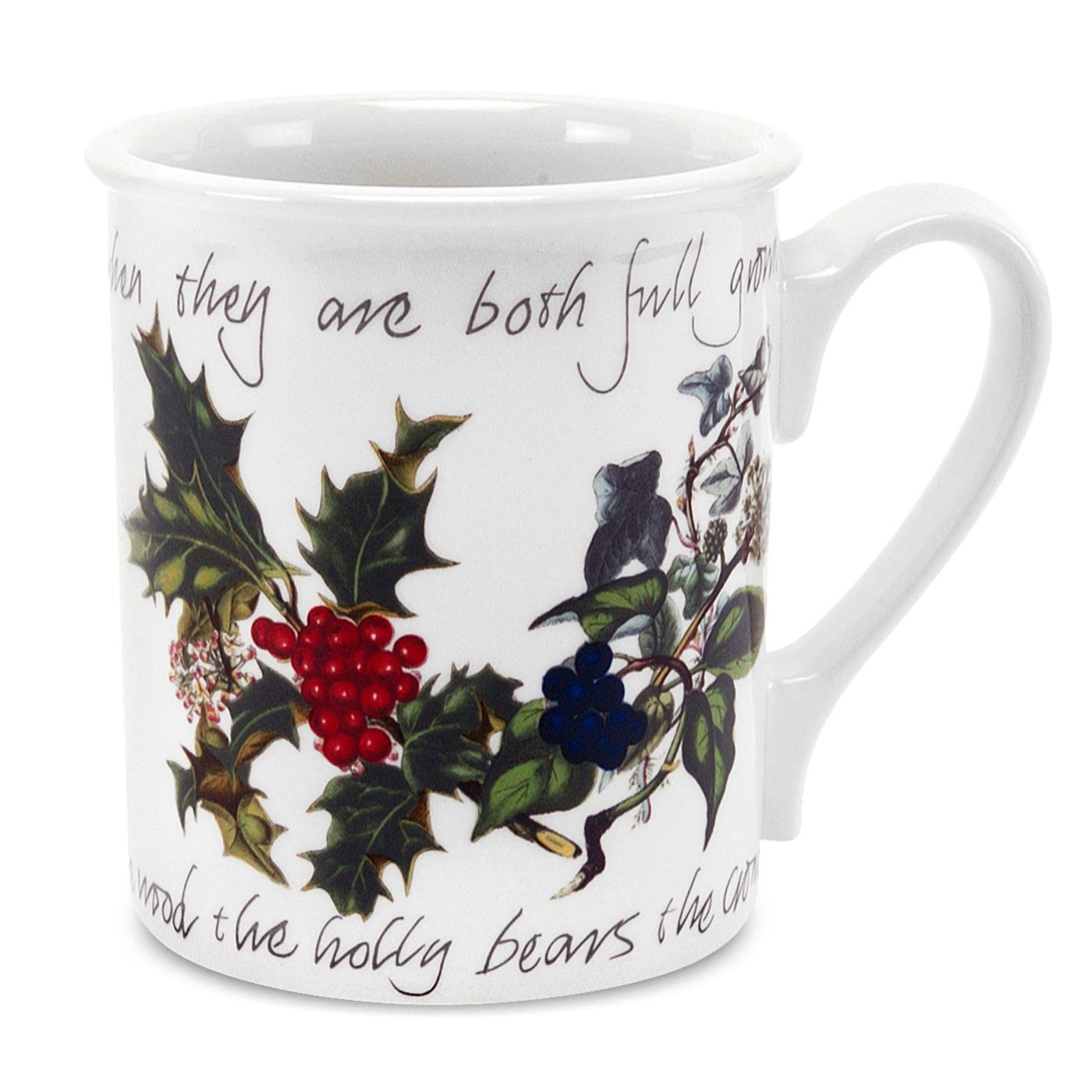 Christmas Holly Mugs