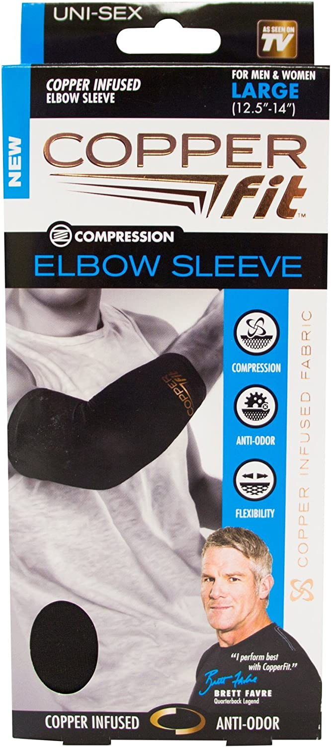 Pink - Large Guaranteed Best Elbow Brace with Infused Support for Workouts Fit for Men and Women Tendonitis Copper Compression Copper Arthritis Golfers /& Tennis Elbow Zinc Elbow Sleeve