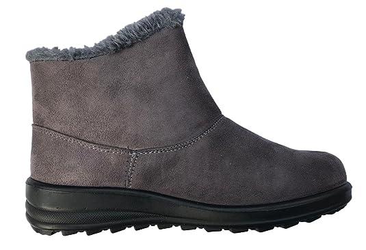 Cushion Walk Bottes de Neige Femme avec Doublure Polaire: Amazon.fr:  Chaussures et Sacs
