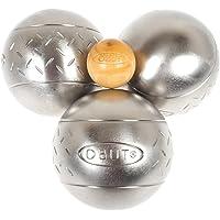 Obut Loisir inox SUN Chevron, jeu de 3 boules