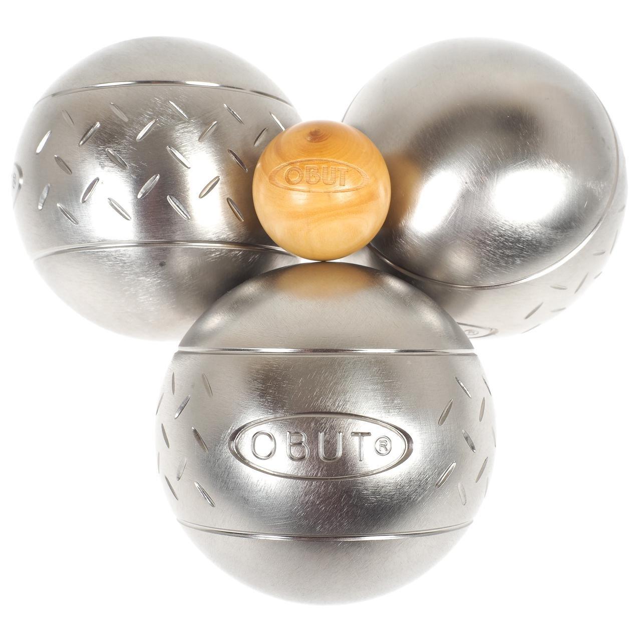 Obut Loisir inox SUN Chevron, jeu de 3 boules product image