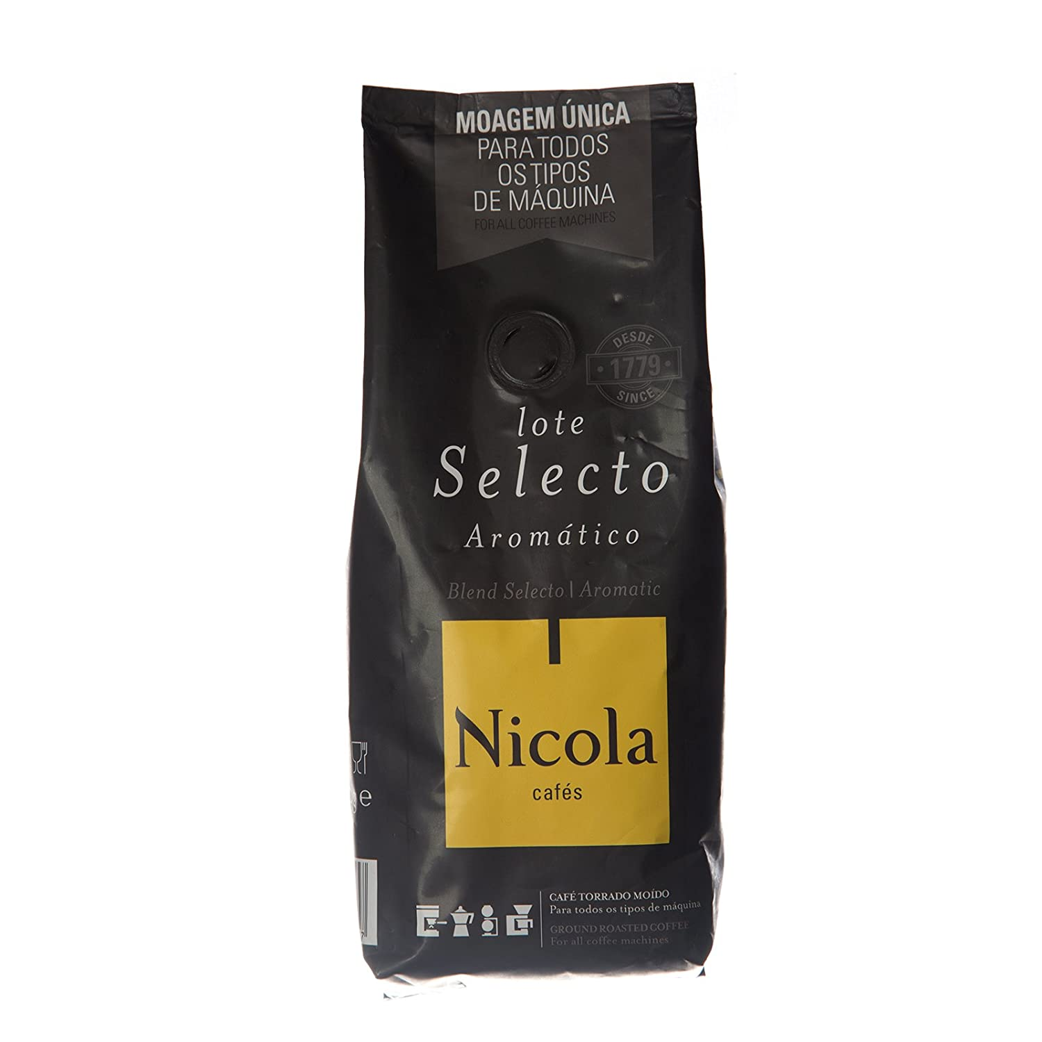 Amazon.com : Nicola Premium Ground Coffee (Aromatic, Pack of 1) : Grocery & Gourmet Food