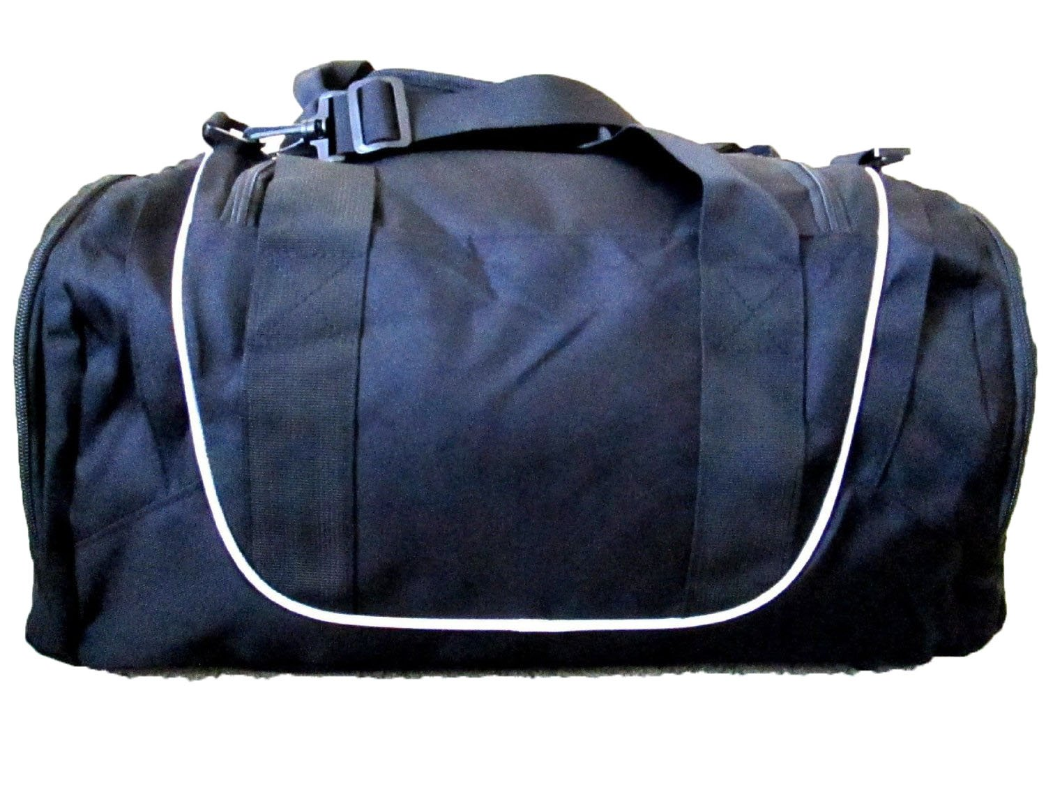 51340be1aa43 Nike Air Jordan Duffel Gym Bag in Black and White 9A1498-210 by Nike   Amazon.co.uk  Sports   Outdoors
