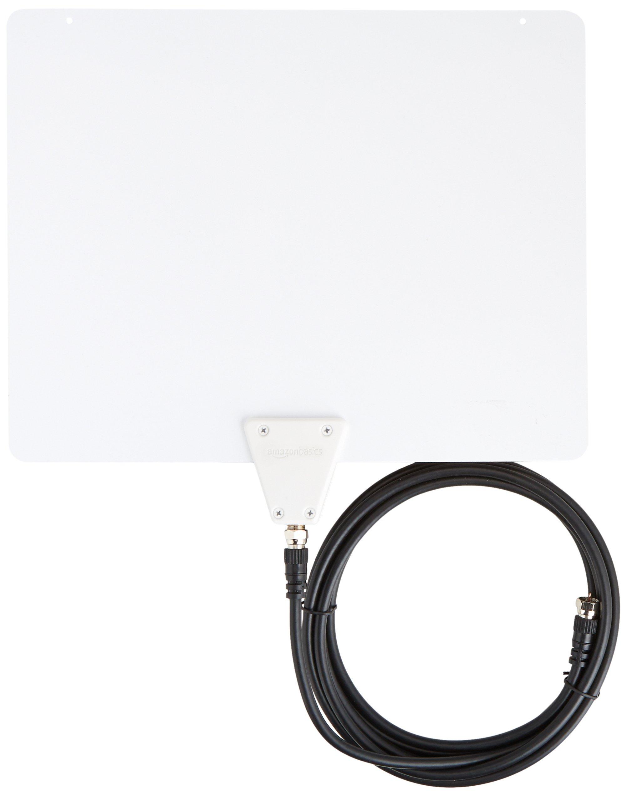 Ultra Thin Indoor TV Antenna - 35 Mile Range