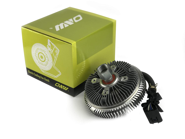 OAW 12-G3200 Electronic Cooling Fan Clutch for 02-09 Chevrolet Trailblazer SSR, GMC Envoy, Buick Rainier, Isuzu Ascender, Saab 9-7x, Oldsmobile Bravada 4.2L 5.3L