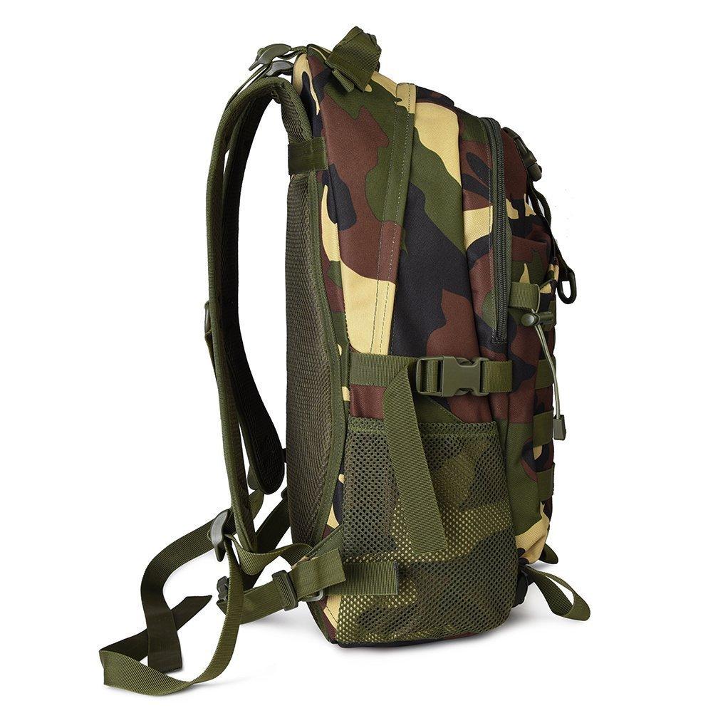 Macbag Tactical Mochila Bolsa de Viaje para Actividades (Camuflaje, al Aire Libre Senderismo Escalada Camping Etc (Camuflaje, Actividades 35 L) bfba5e