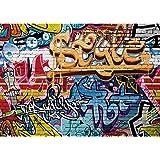 Music 7x5 FT Vinyl Photography Background Backdrops,Sketch Style Hand Drawn DJ Headphones Rhythm Radio Modern Hippie Art Illustration Background for Graduation Prom Dance Decor Photo Booth Studio Prop