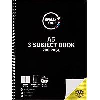 Spirax Kode 961 A5 3-Subject Notebook 200Pg