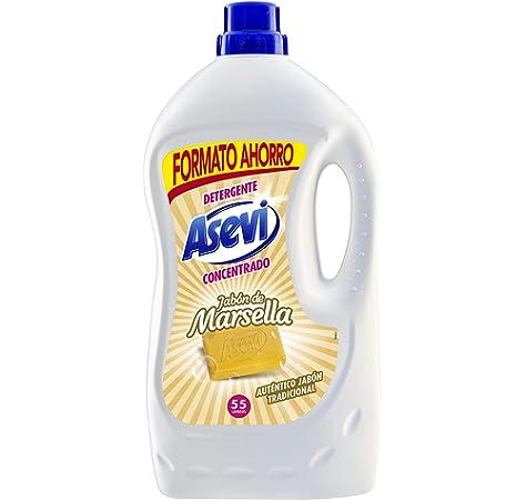 Detergente Asevi Jabón de Marsella 55 dosis (23671): Amazon.es ...