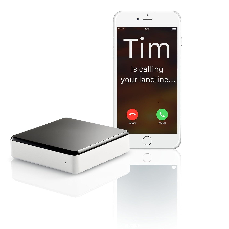 Invoxia Voice Bridge - Accesorio para Pasar Llamadas Desde teléfono Fijo a móvil