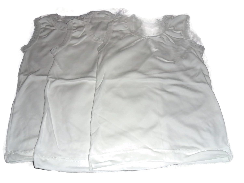 3x neuf filles t-shirts 100% coton