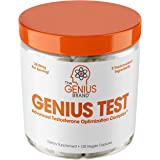 Genius Test - The Smart Testosterone Booster For Men | Natural Energy Supplement, Brain & Libido Support, Fat Loss | Muscle B