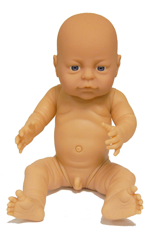 Born Anatomically Correct Bathable Vinyl Baby Doll White Boy Ethnic ...