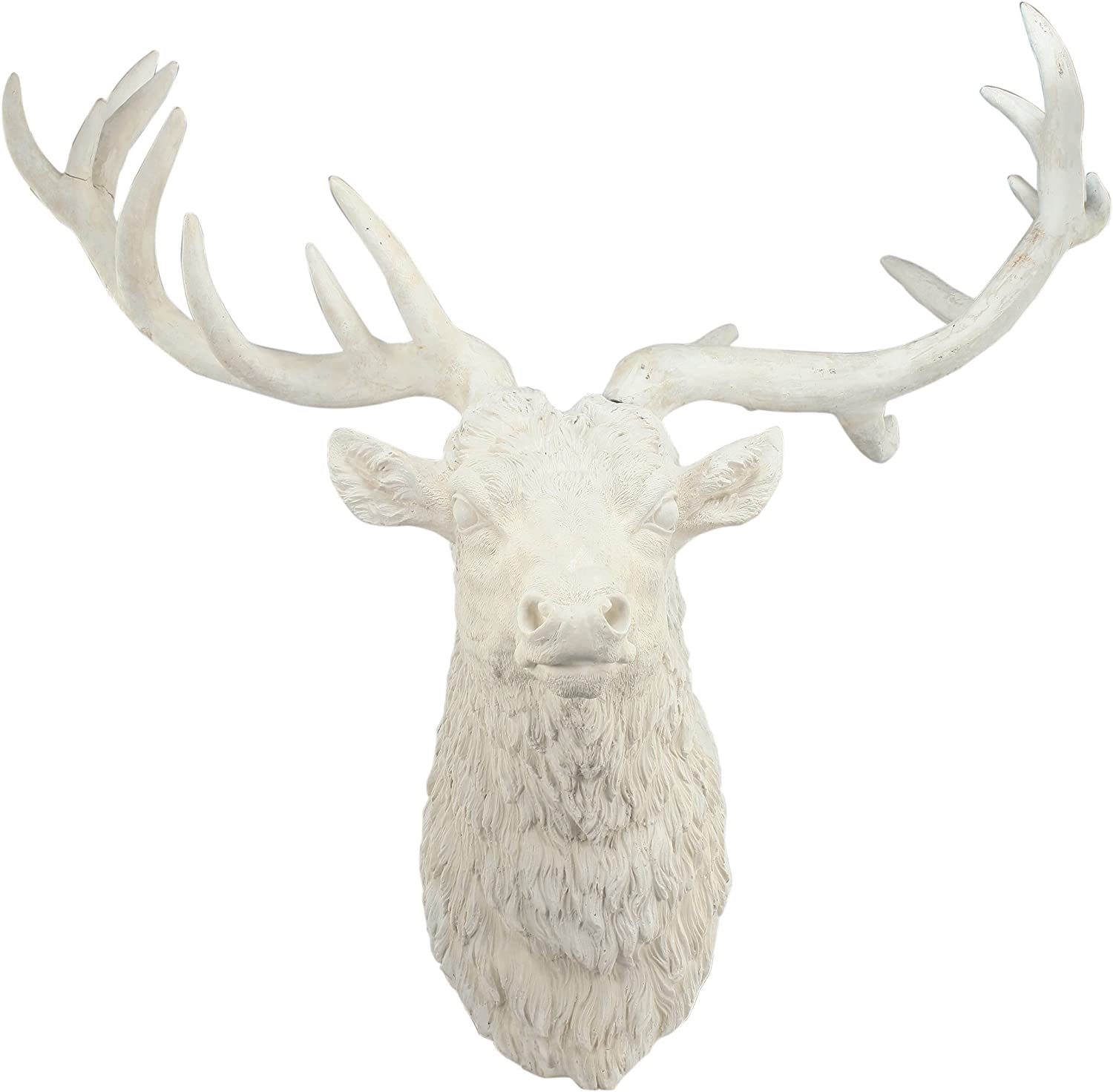 A&B Home Darby Deer Head Wall Accent, Resin