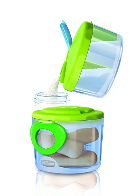 Chicco Easy Meal - Dispensador 2 en 1 de leche en polvo y/o comida