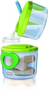 Chicco Sistema Dispensador de Leche en Polvo, 0 Meses+, color Verde