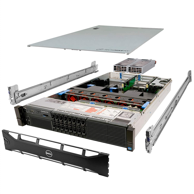 Renewed DELL PowerEdge R710 Server 2X 2.40Ghz E5645 6C 64GB 6X 1TB Mid-Level
