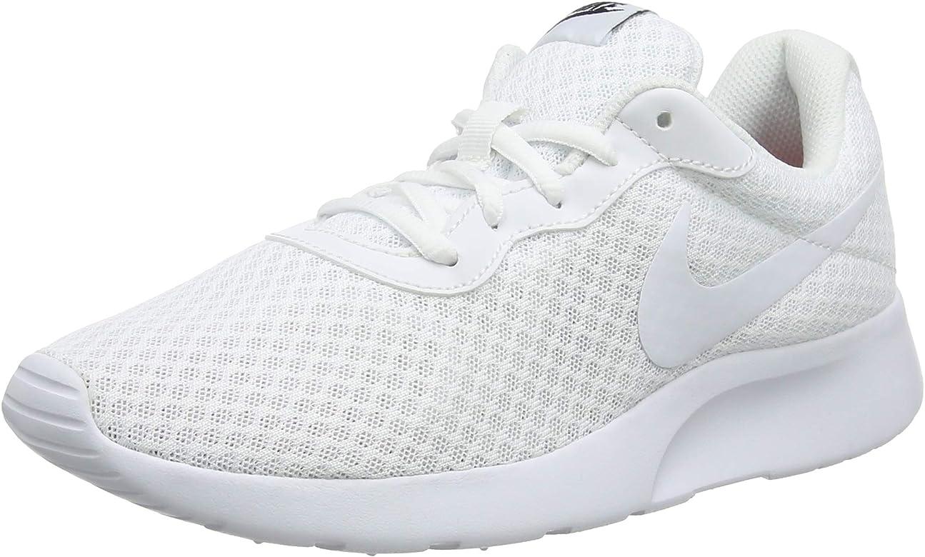 good looking buy best website Nike Tanjun, Zapatillas de Running para Mujer, Blanco (White/White ...