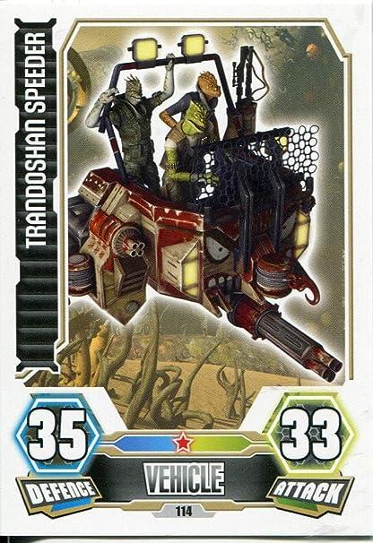 Force Attax série 3 Trandoshan speeder #114