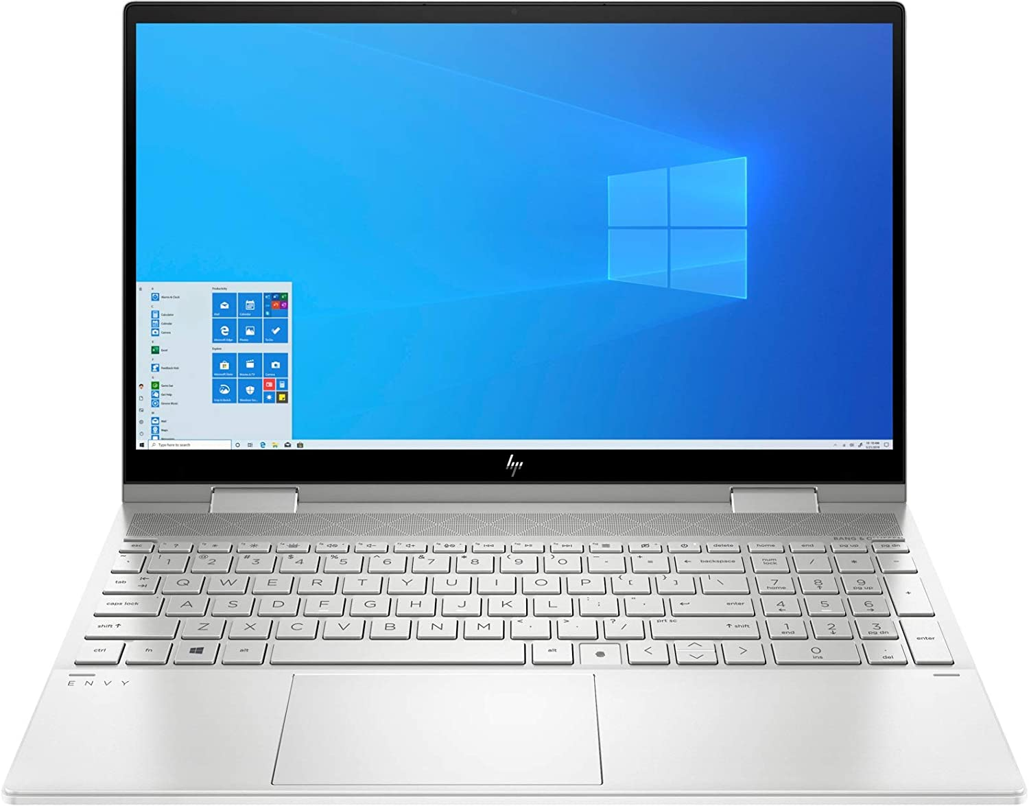 """CUK Envy x360 15t 15 Inch Touch Business Laptop (Intel Core i7, 32GB RAM, 1TB NVMe SSD, 15.6"""" FHD IPS Touchscreen, Windows 10 Pro) Professional Notebook Computer (Made_by_HP)"""