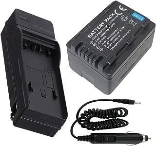 coche para PANASONIC HC-W570 HC-W580 Kit de cargador de batería de red