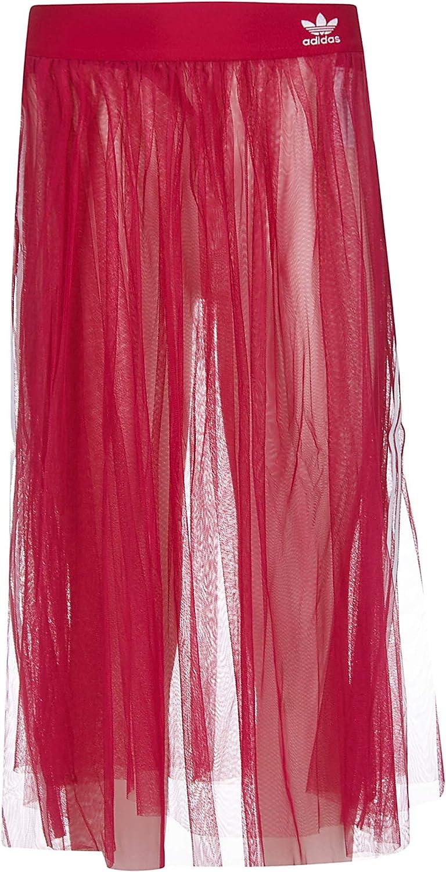 adidas Tulle Falda Mujer Rosa: Amazon.es: Ropa y accesorios