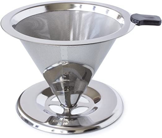 wollful sin papel vierta sobre cafetera goteo – reutilizable de ...