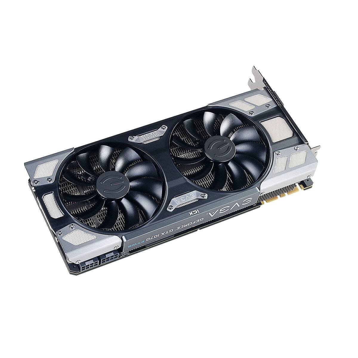 PXOC 8GB GDDR5 LED Scheda Grafica 08G-P4-6173-KR DX12 OSD Supporto EVGA GeForce GTX 1070 SC GAMING ACX 3.0