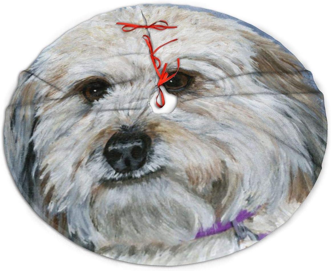 Amazon Wi Walking Pi Yorkipoo White Art Painting Dog