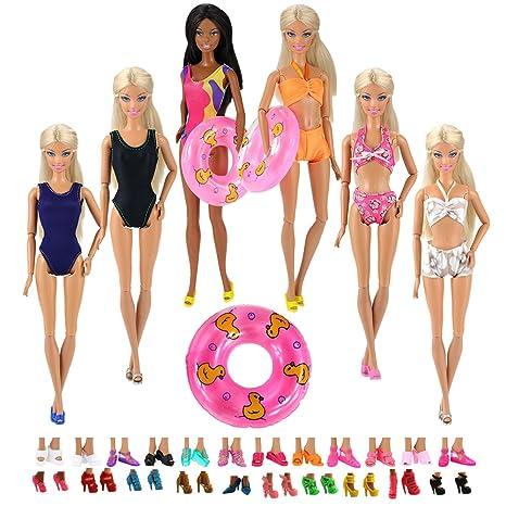 Miunana 12 Artículo: 5 Trajes de Baño Bañador Suave Playa Bikini Perfeccione Verano Ropa,