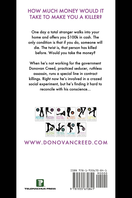Amazon: Lethal Experiment: A Donovan Creed Novel (9781935670841): John  Locke: Books