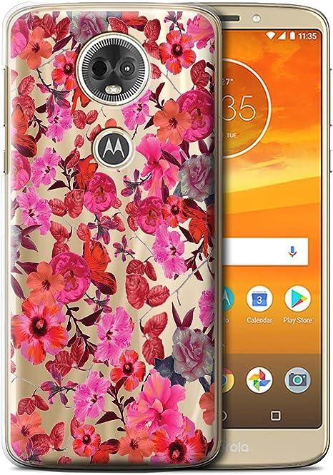 Stuff4® Phone Case/Cover/Skin/Moto-CC/Classic Pink Floral ...