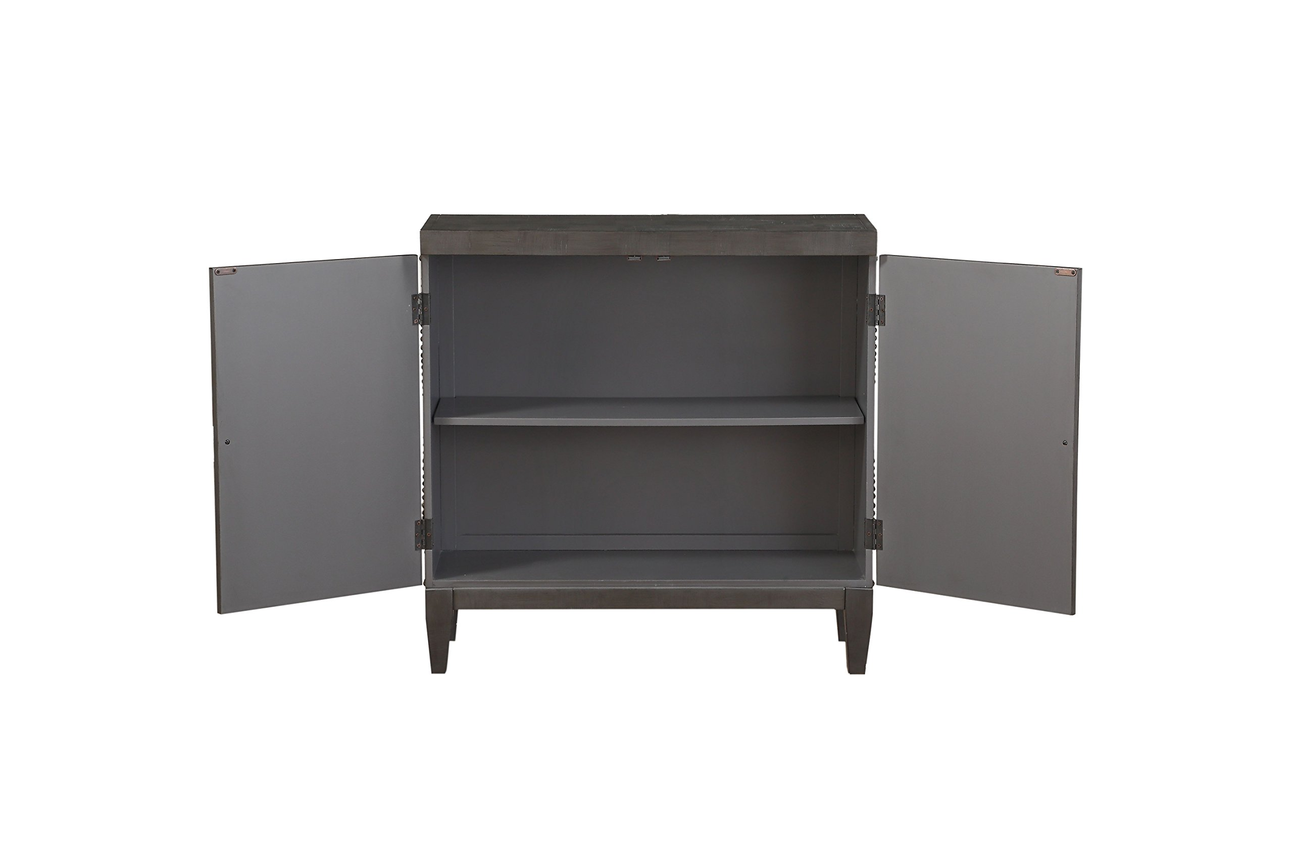 ACME Furniture 90298 Cherie Console Table, Antique Black by Acme Furniture (Image #3)