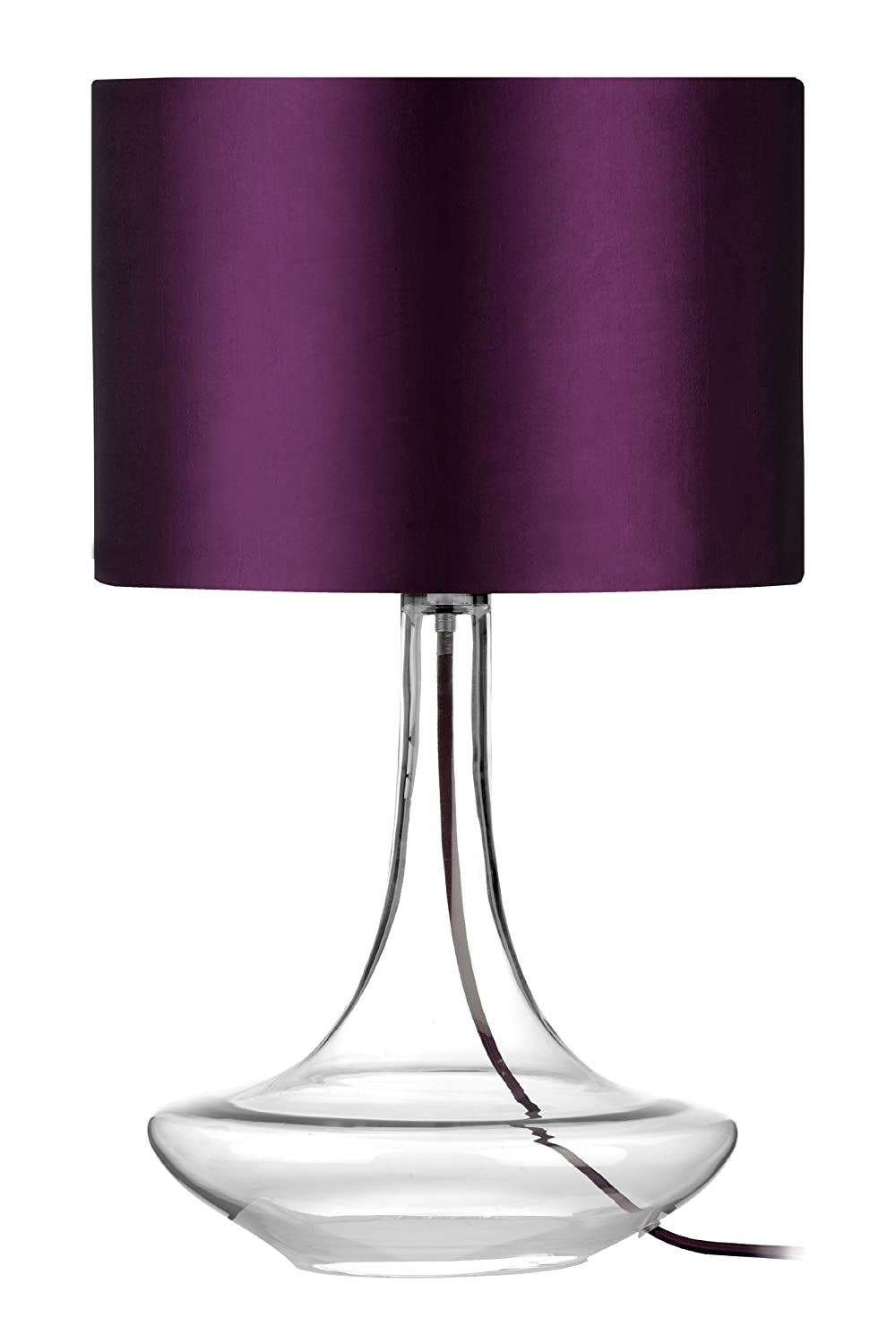Premier housewares curved glass table lamp hot pink amazon premier housewares curved glass table lamp hot pink amazon lighting mozeypictures Gallery