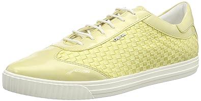 Geox D AMALTHIA Gelb Schuhe Sneaker Low Damen 69