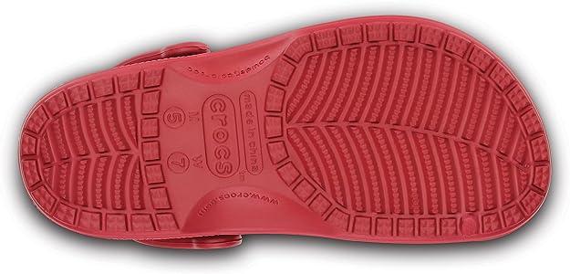 Crocs-Feat-Mixte para Adulto, Color Rojo, Rojo (Rojo), 39^40