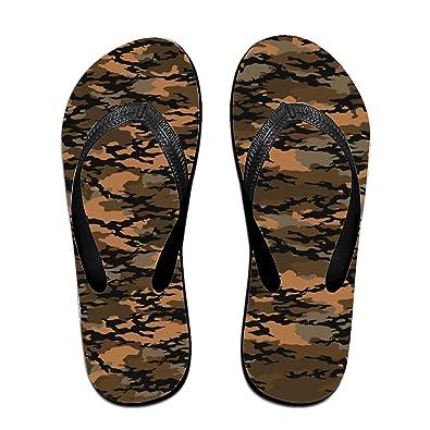 3f99090643aa7 Wendex Camouflage Fashionable Men s Beach Flat Rubber Sandals Flip Flops