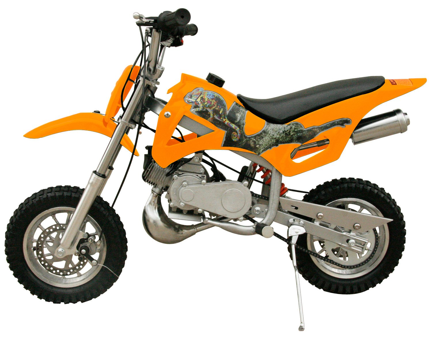 Flying Horse 49cc 50cc 2 Stroke Gas Powered Mini Dirt White Honda Pit Bike Motorcycle Kids Motocross Automotive