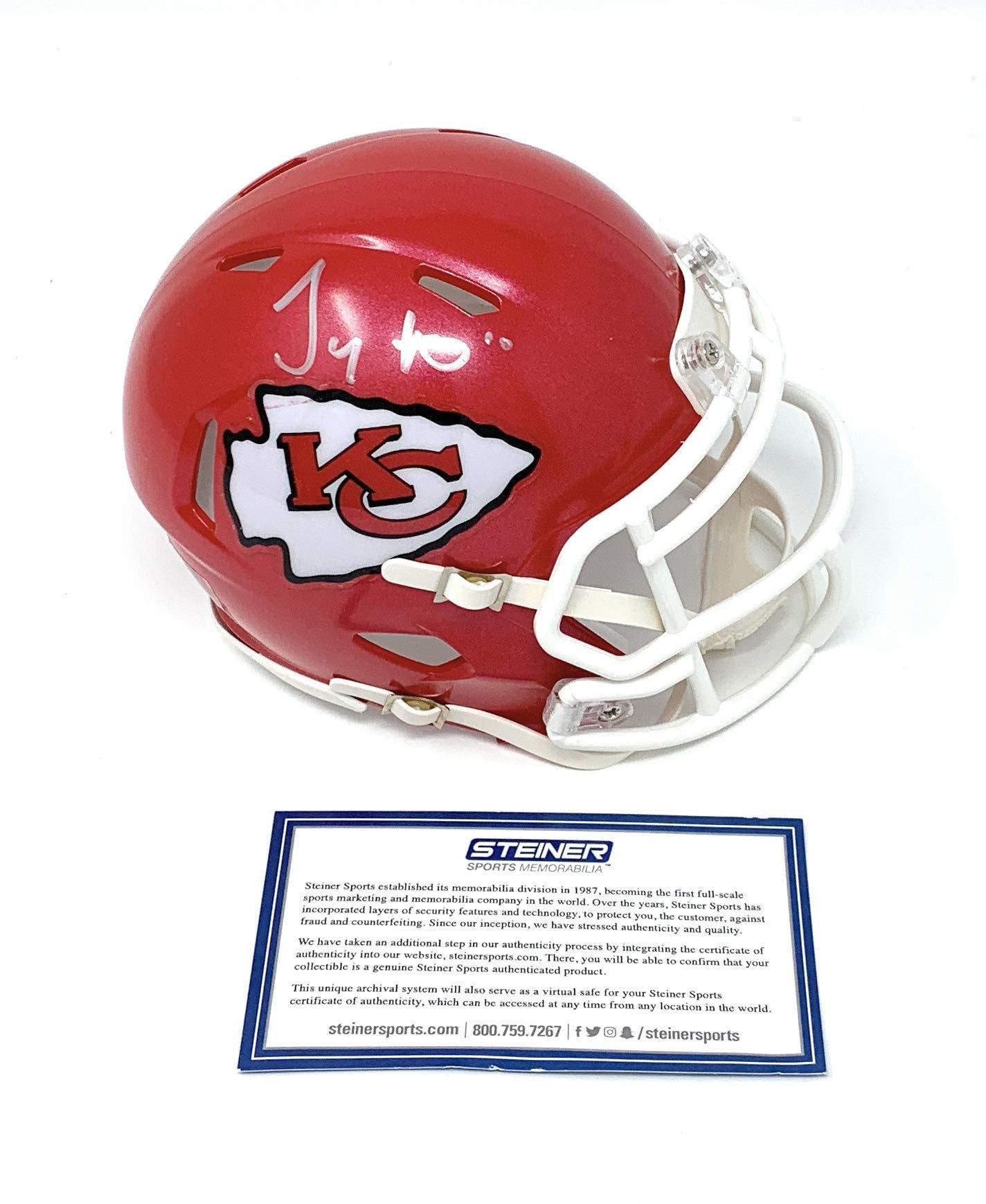 Tyreek Hill Kansas City Chiefs Signed Autograph Speed Mini Helmet Steiner Sports Certified