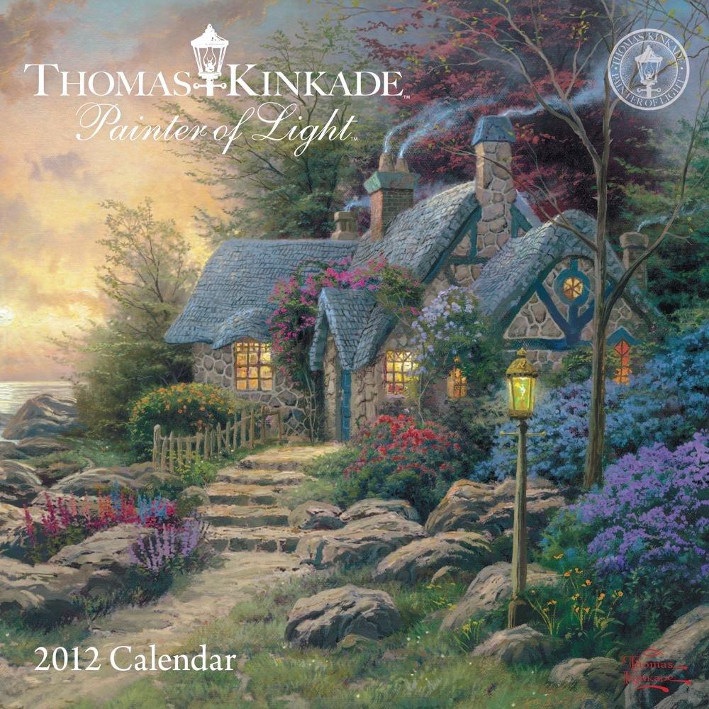 Thomas Kinkade Painter Light Calendar