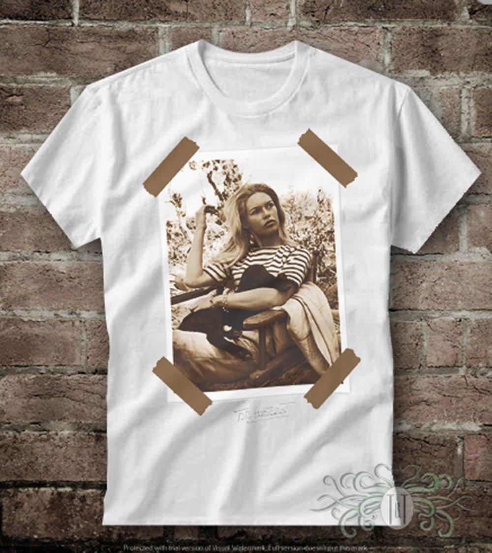 Roly Camiseta uomo-Brigitte Bardot: Amazon.es: Deportes y ...