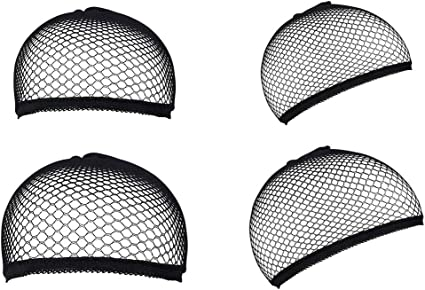 Gorras de Peluca, URAQT Redecilla Peluca 4 Piezas, Casquillo para ...