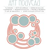 Art nouveau tile designs. Ediz. multilingue. Con CD-ROM